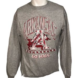 Vintage Arkansas Razorbacks Crewneck